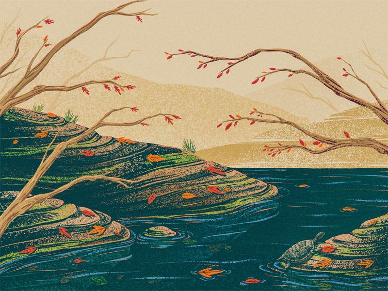 landscape – river 6